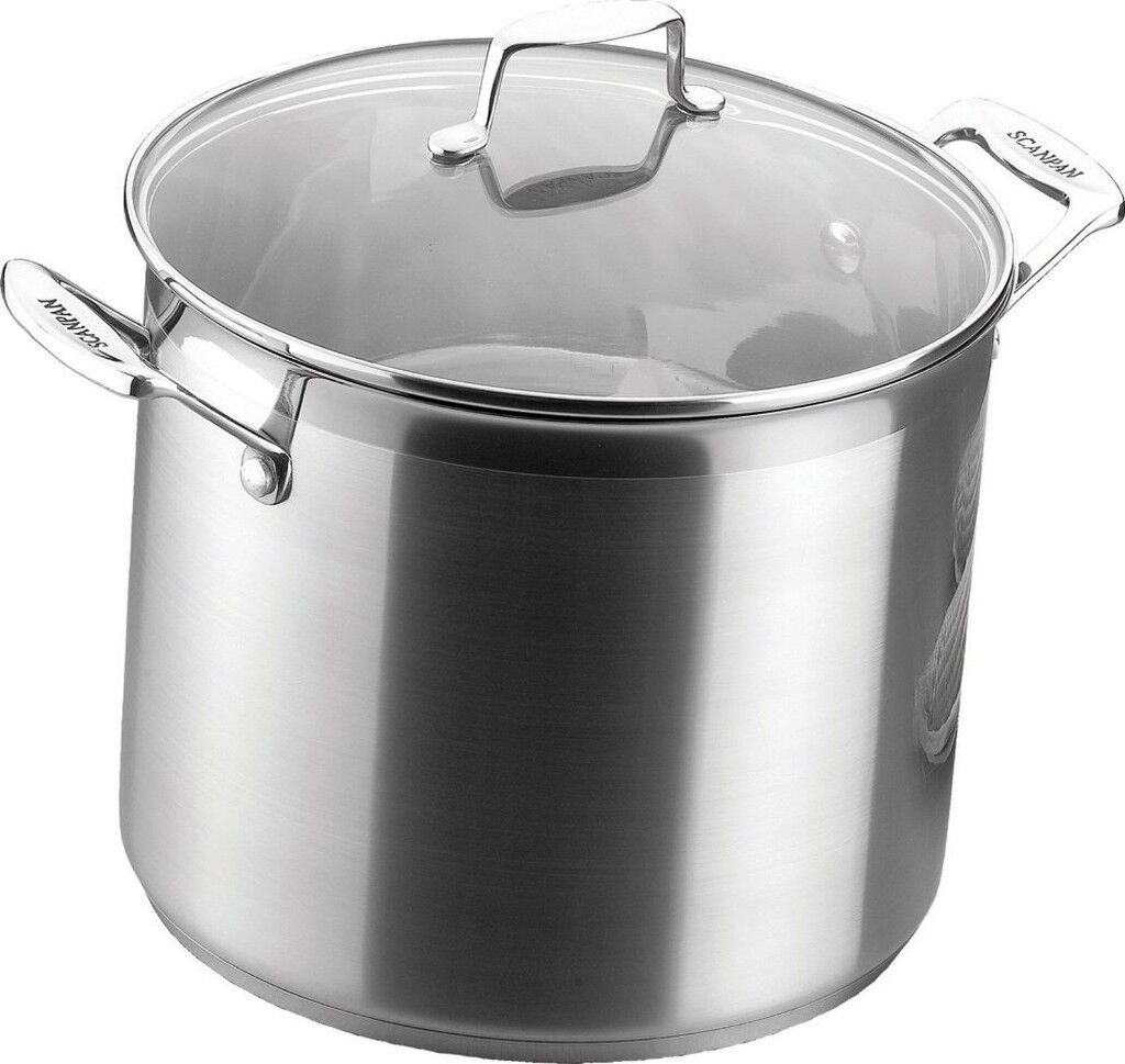 Scanpan Impact 7.2 Litre Stock Pot with Lid 24cm