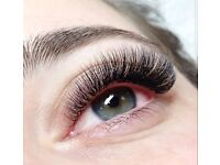 Semi permanent Mink Eyelash extensions, Rusian volume, 2D-9D, Mink lashes