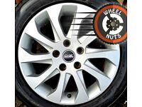 "16"" Genuine Seat Leon alloys Golf Caddy excel cond premium tyres."