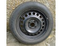 195/60 R15 Dunlop tyre on Astra wheel