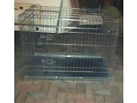 2 XL Dog Cages