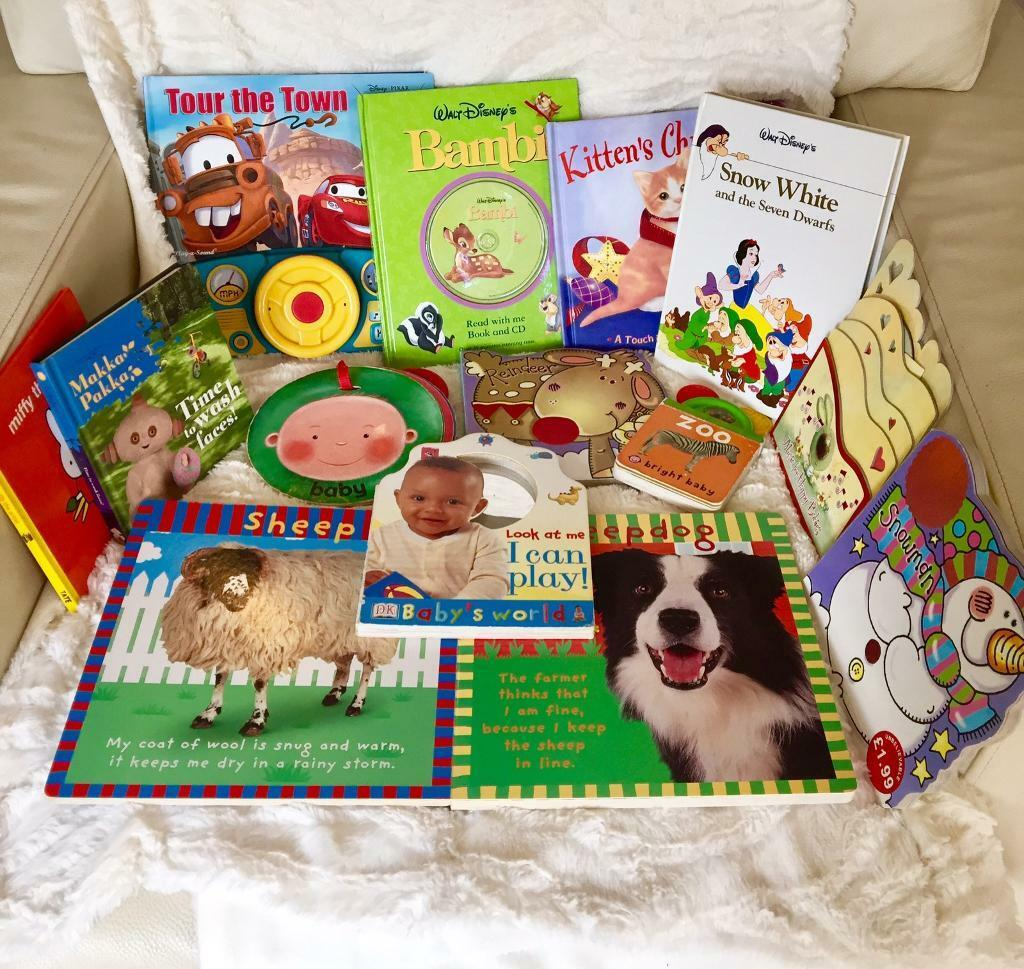 Selection of children's books, all clean and in very good condition.