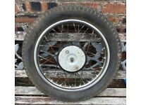 Triumph Tiger Cub - Front Wheel Assembly