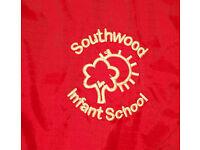 Unisex Southwood Infant School Red Coat