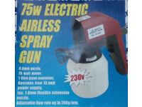 Electric Airless Spray Gun, 75W
