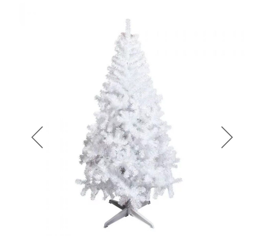 Beautiful white iridescent 6ft Christmas tree from Paperchase | in ...