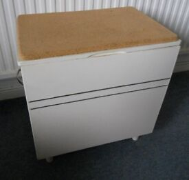 Retro Cork Topped Seat and Storage Box