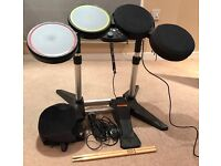 Rock Band Drum Set (Includes Microphone and Removable Drum Silencing Covers)