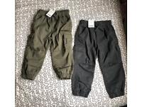 New Cargo pants age 3 years