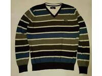 Mens stripey jumper