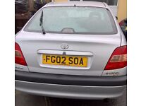 AUTO Toyota Avensis 2002 Full Service History Must Be Seen