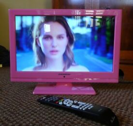 Pink 16 inch Lcd Tv