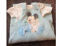 Gorgeous Mickey Mouse Outfit 9/12 Months