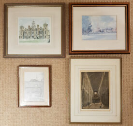 QUALITY FRAMED PICTURES OF NORWICH AND BLICKLING HALL