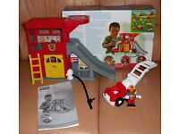 Fisher-Price Little People Rescue Ramps Fire Station