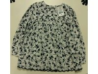 Cute Girl's Floral top for age 5 - 6 years