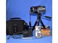 Panasonic digital camcorder model NV-GS250
