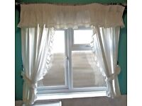 Cream Cotton Curtain