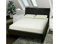 🎆💖🎆HIGH PADED HEADBOARD🎆💖🎆FAUX LEATHER BED FRAME IN SINGLE,SMALL DOUBLE,DOUBLE & KING SIZE