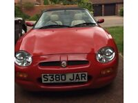 MGF BEAUTIFUL CAR, GET READY FOR SUMMER
