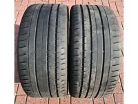 275 40 ZR 19 Continental Sport Contact 2 Tyres - MO Mercedes Rated W221 S320 S350 S500 S600 AMG