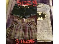 Ladies size 8 clothes bundle