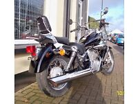 2006 Suzuki Intruder LC Classic K6 VL125 With Warranty Auxiliary Lights Screen & More VL 125