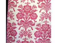 Laura Ashley thermal lined curtains 65 inch wide x 55 inch drop