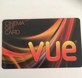 £30 worth vue card for £26