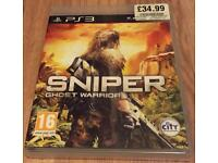 Sniper - Ghost Warrior PS3 - Excellent Condition - Video Game
