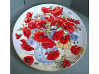 wedgwood a passion for poppies plate