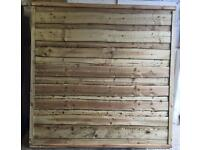 🌲High Quality Heavy Duty Wayneylap Fence Panels