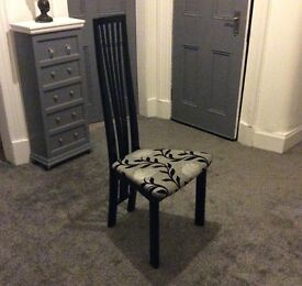 High Back Dining Chairs. £20