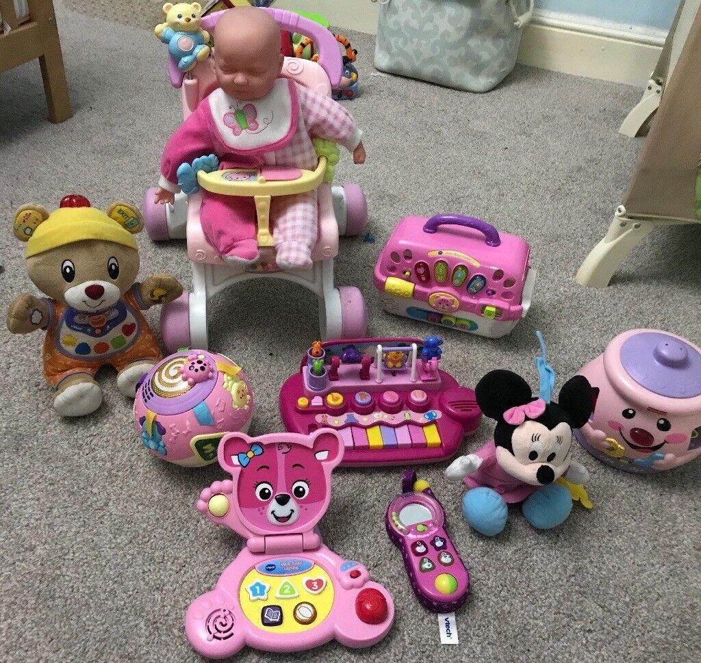 Pink toy bundle
