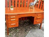 Retro/ Vintage solid hardwood desk