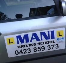 MANI DRIVING SCHOOL Brisbane City Brisbane North West Preview