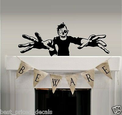 Best Halloween Wall Decorations (Scary Monster - Halloween, Best Priced Decals, Wall)