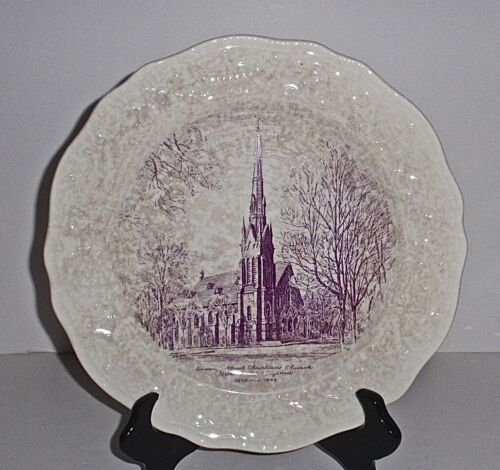 Vintage -Seventh Street Christian Church, Richmond, Virgina 1872-1946 Plate