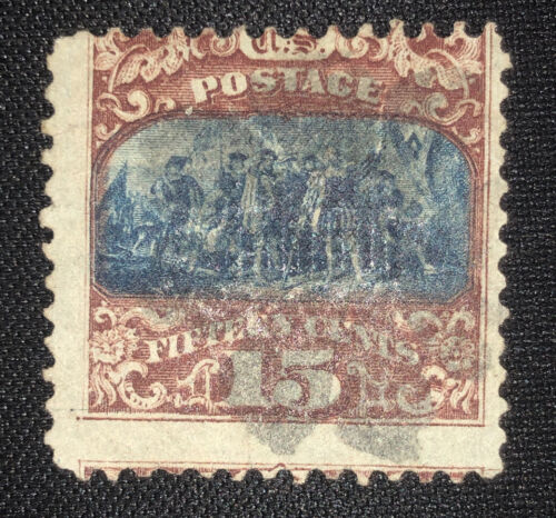US Stamp Scott 119 Pictorial Series From 1869  - $1.00