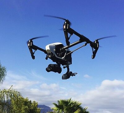 Dji Inspire 1 Rear Go Pro Mount Attachment  Very Secure Mounting Design