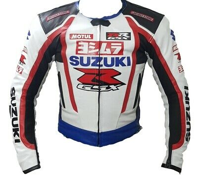 Custom Made Best Quality Suzuki RGSX Leather Jacket For Mens