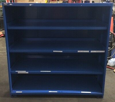 Stanley Vidmar 60 Wide X 59 Tall X 28 Deep Adjustable Shelving Cabinet Ct