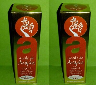 Aceite de argan 100% puro spray 2x50 ml Prisma Natural