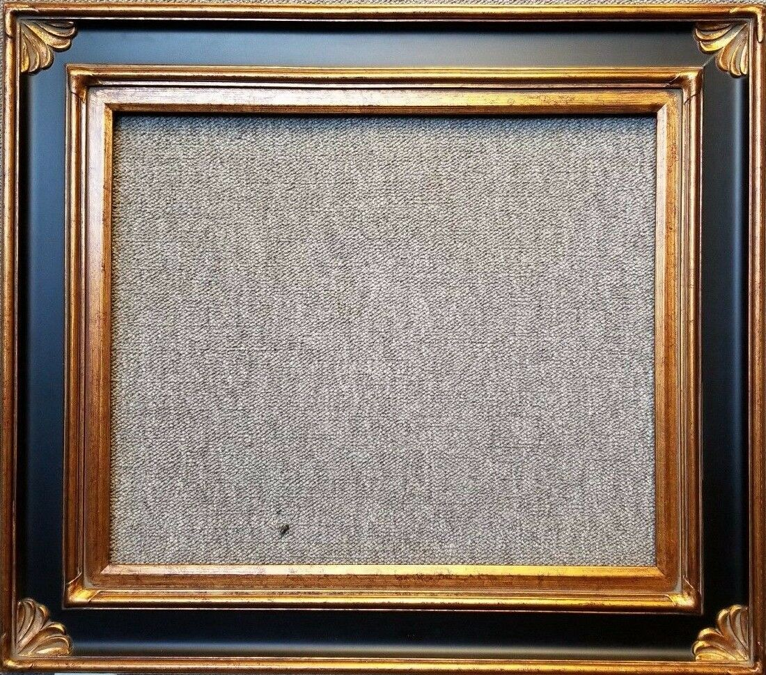 475 wide gold and black ornate oil painting wood picture frame this listing is for a premium gold black wood picture frame as shown in the picture it is not made of beveledcompressed wood plastic jeuxipadfo Image collections