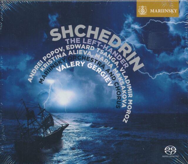Shchedrin The Lef-hander CD NEW Valery Gergiev Andrei Popov Tsanga Moroz