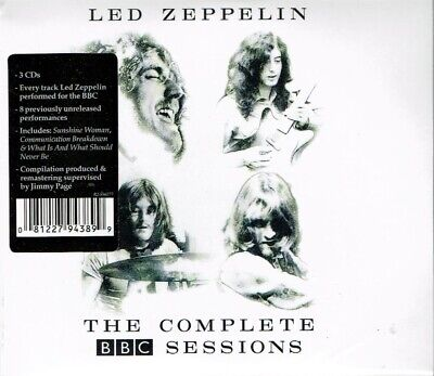 LED ZEPPELIN THE COMPLETE BBC SESSIONS 3 CD Set New Sealed Fast - Sessions Cd