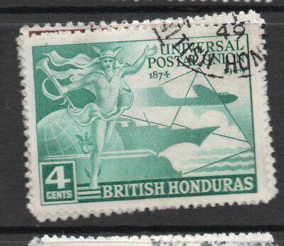 B. Honduras  1949 UPU set fine used