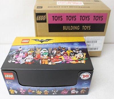 LEGO 71017 Batman Movie Sealed Case of 60 Minifigures Packs New Free Shipping