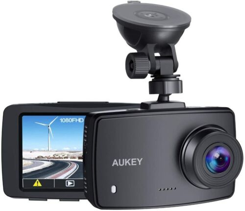 AUKEY Dash Cam 1080P Car Camera 170° Wide-Angle Dash Camera Support 128GB MAX