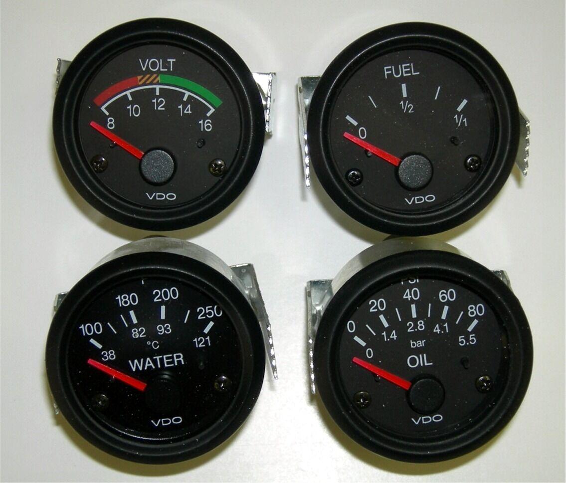 Vdo Tachometer Repair Gas Gauge Wiring Diagram 240 33 Ohm 4 Set With Sendevdo